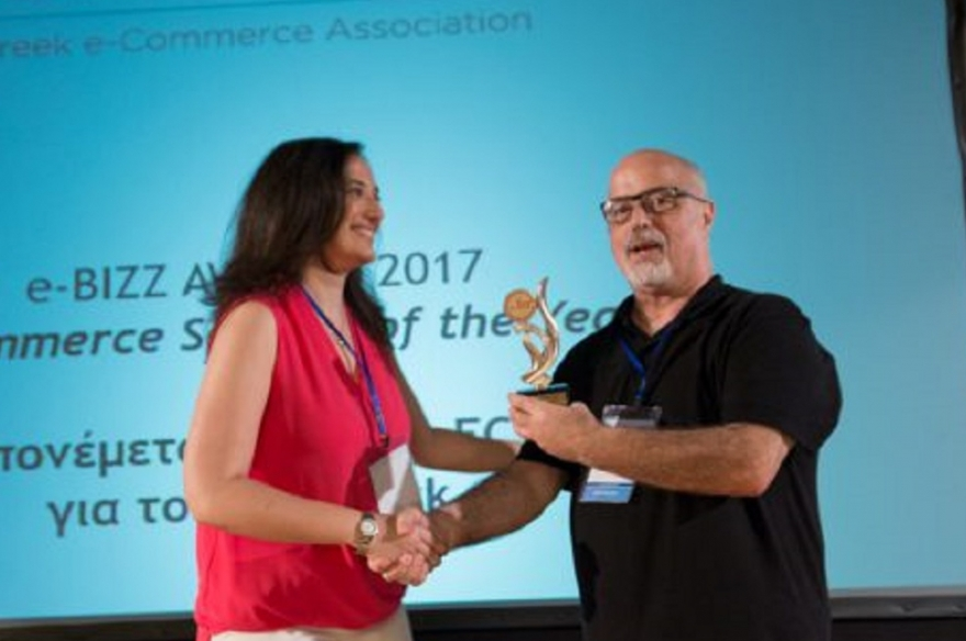 "Στον GR.EC.A. το βραβείο ""e-Commerce Service of the Year"""